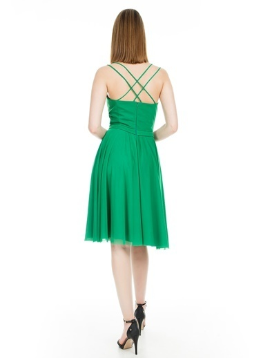 Trend Elbise Yeşil